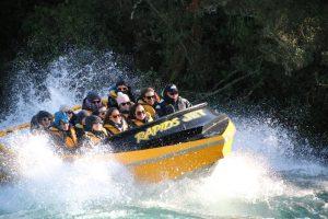 Yellow New Zealand Jet Boat Rapids Jet